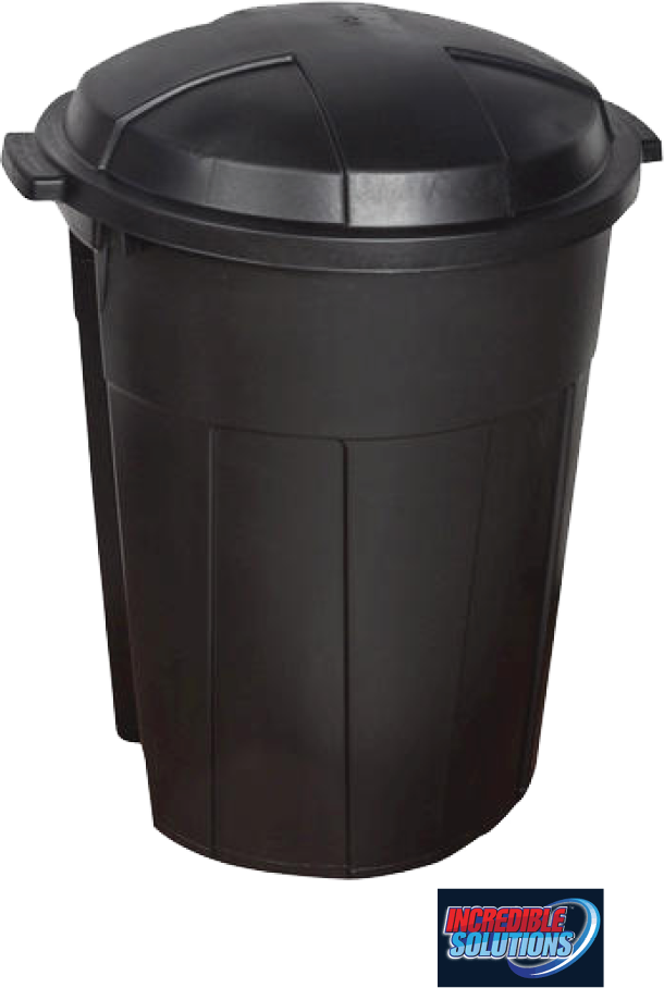 $15.99 - 32 Gal. Trash Can. Easy grip handle. Heavy duty construction. Sturdy base. For outdoor use. No. 3405060 (166999)