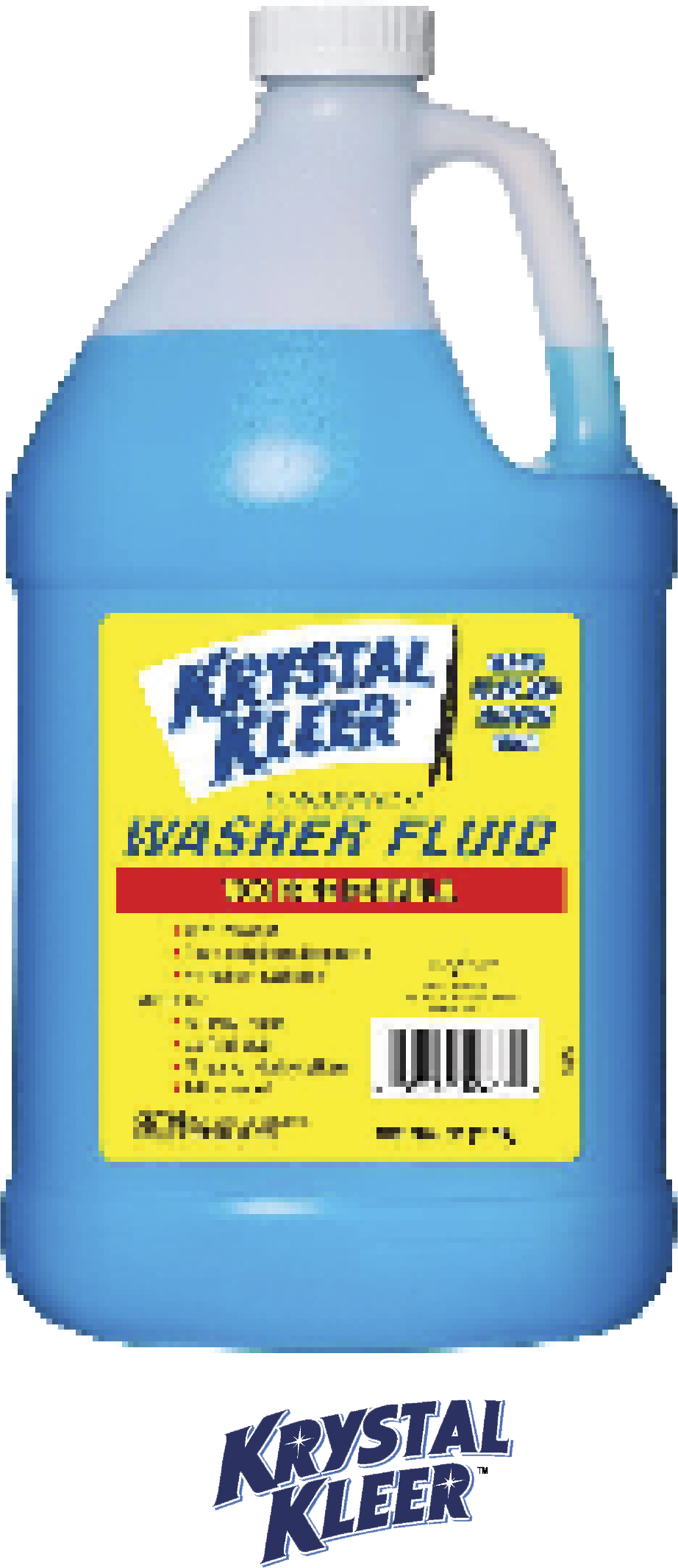 $1.89 128 Fl. Oz. +32°F Summer Windshield Washer Fluid. Specially formulated for use in warm weather conditions. Cuts through road film & bugs for optimal visibility.  (329906)