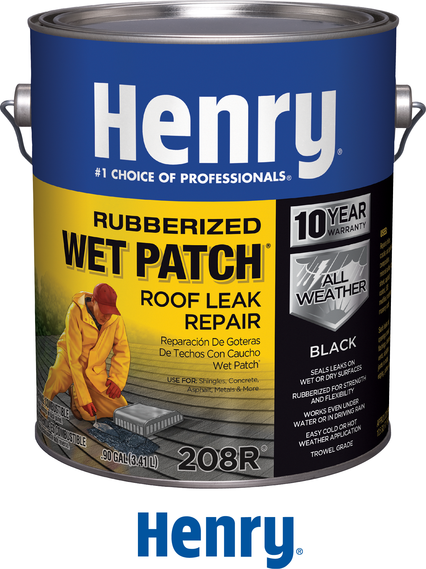 Henry paint can