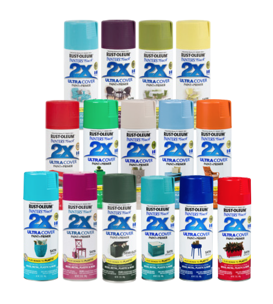 $3.99.  2X Ultra Cover®  - Satin or Gloss Spray - Glossy finish comes in  a large selection of on-trend, vivid colors. No. 249846  (415839-924/416839-46)