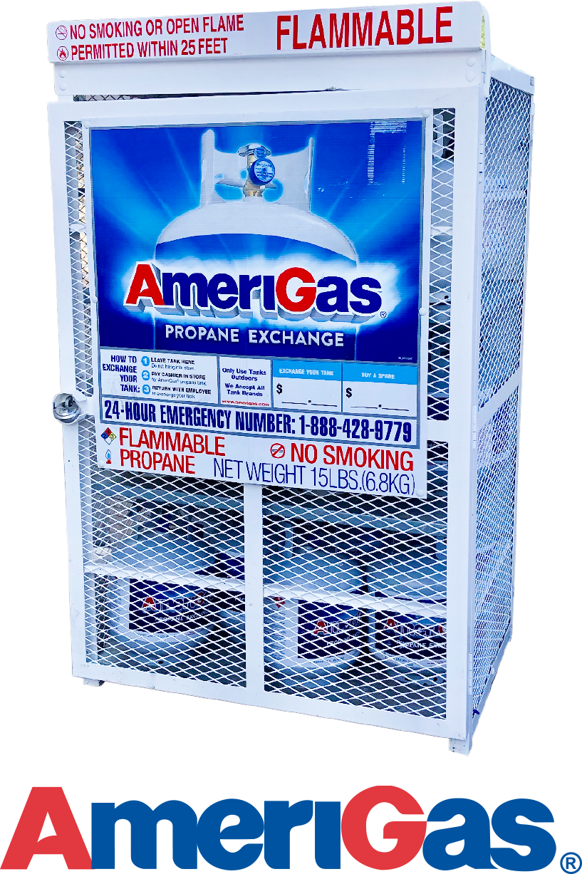 Propane Tank Exchange - $18.99  Bring in your empty propane tank & exchange it for a pre-filled AmeriGas® tank.