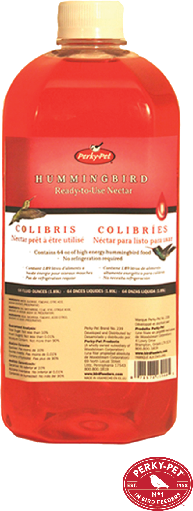 $5.99 - Hummingbird Bird Food No mixing required.  Simulates the nectar from flowers. No refrigeration required. (901197)