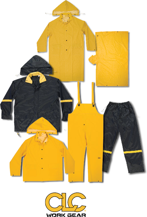 15% Off ALL CLC® WORK RAINGEAR Many styles and sizes to choose from