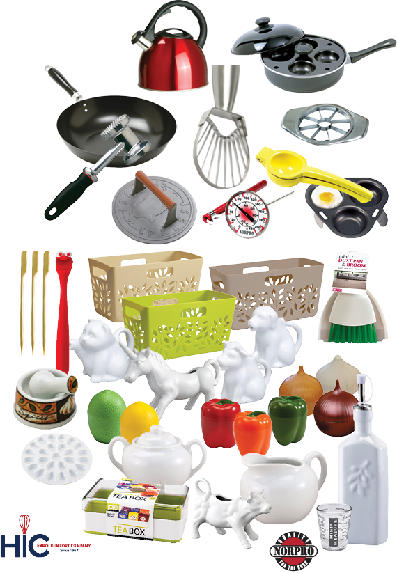 15% OFF Harold Imports & Norpro Products