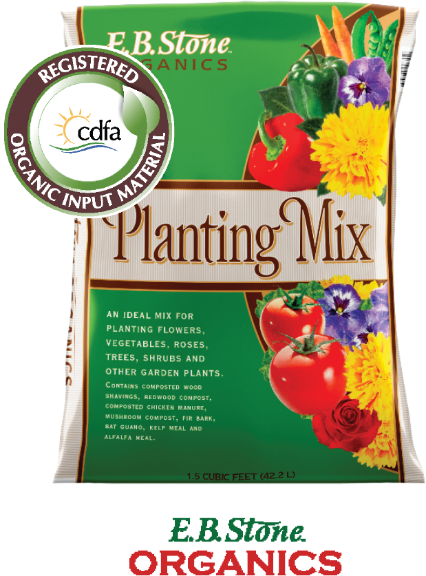 6.99 1.5 Cu. Ft. Planting Mix  Ideal mix for planting flowers, vegetables, roses, trees, shrubs& other garden plants.(909411)